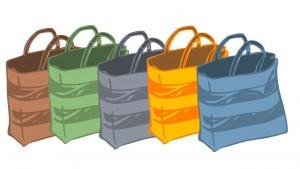 reusable bags shopping