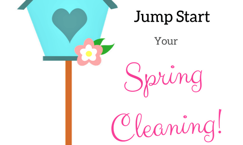6 Places To Jump Start Your Spring Cleaning